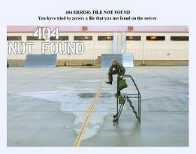 page en 404